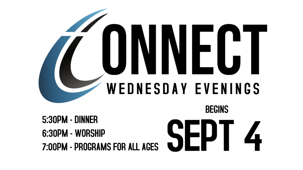 Connect Wednesday Evening