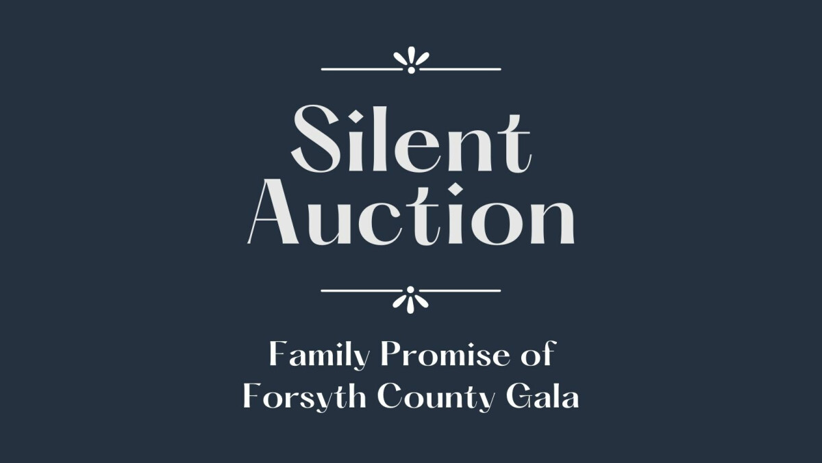 Family Promise Gala Silent Auction Collection