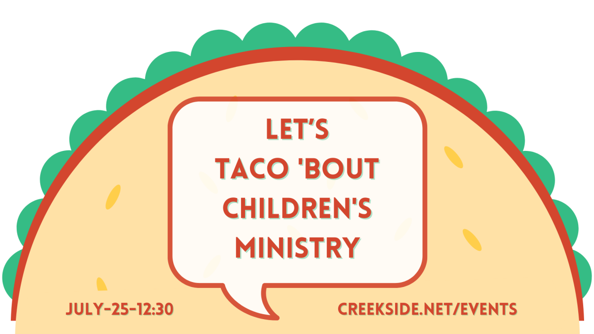Let's Taco Bout Children's Ministry