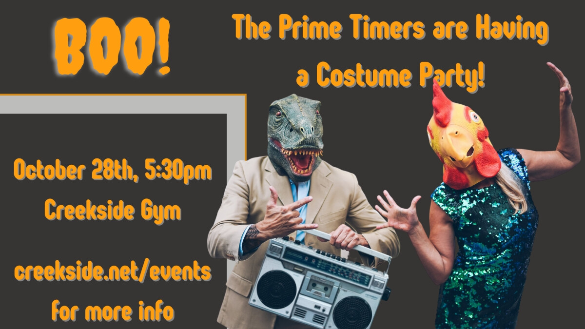 Prime Timer Costume Party