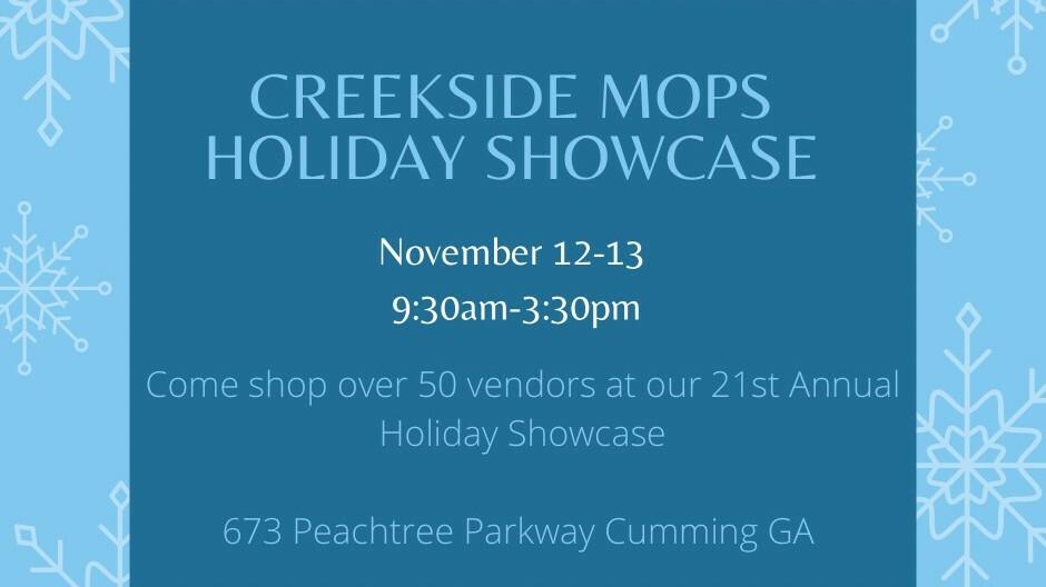 MOPS Holiday Showcase